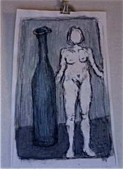 Nude and Bottle